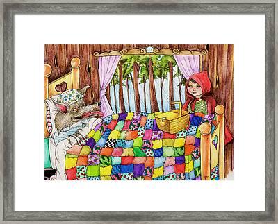 Visit Framed Print