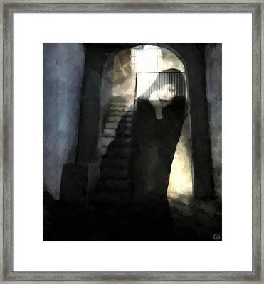 Visitor From Long Ago Framed Print by Gun Legler