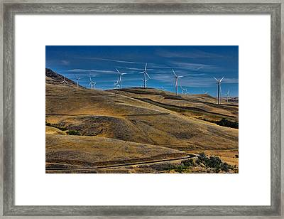 Visual Pollution Framed Print by Tim Perry