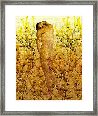 Vital Solitude Framed Print