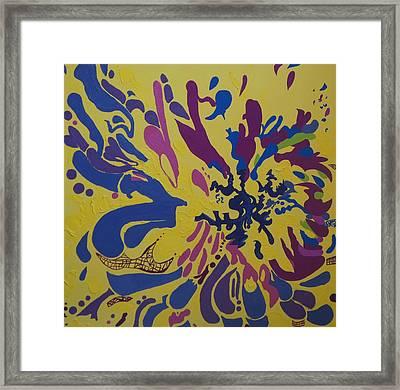 Vitality Nine Framed Print by Amanacer Originals
