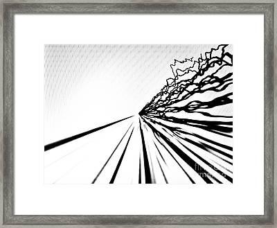 Vitals 2 Framed Print by Tashia Peterman