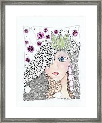 Vivian Framed Print by Paula Dickerhoff