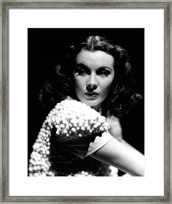 Vivien Leigh, 1940 Framed Print by Everett