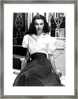 Vivien Leigh, Portrait Framed Print by Everett
