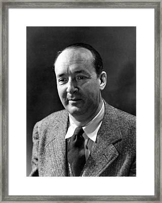 Vladimir Nabokov, Novelist-writer Framed Print by Everett