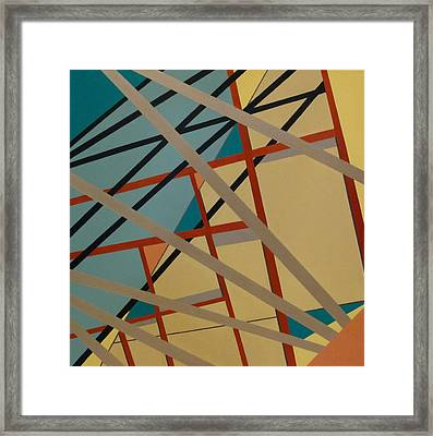 Vocalize And Floating Framed Print
