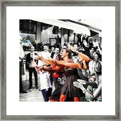 Voglio Essere Io La Prossima!! Framed Print