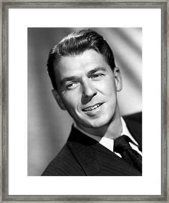 Voice Of The Turtle, Ronald Reagan, 1947 Framed Print by Everett