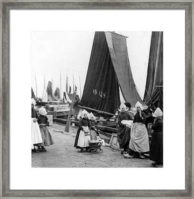 Voldneam - Netherlands - C 1922 Framed Print by International  Images