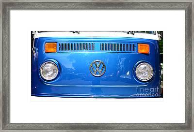 Volkswagon Van Framed Print