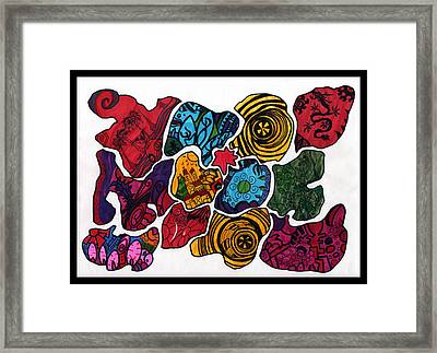Voltiao Framed Print by MikAn 'sArt