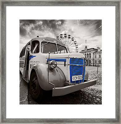 Volvo Framed Print
