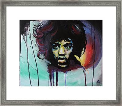 Voodoo Child Framed Print by Matt Burke