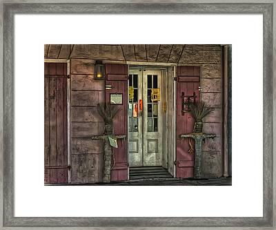 Voodoo Shop Framed Print