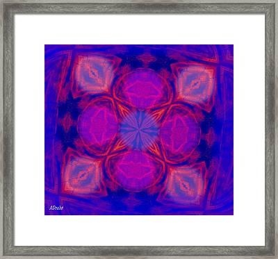 Voodoo Window Framed Print by Alec Drake