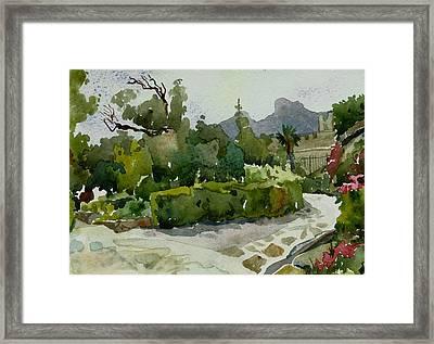 Vorontsovsky Park Framed Print by Natalia Sinelnik