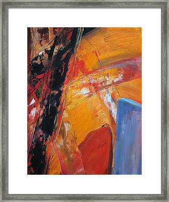 Vortex Framed Print by Ethel Vrana
