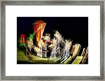 Vortex Of Light Framed Print