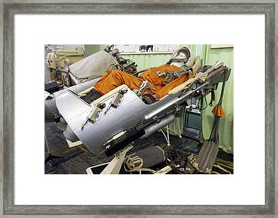 Vostok Ejection Seat Framed Print