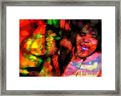 Vs2 Framed Print by Fania Simon