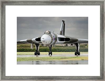 Vulcan Thunder Framed Print