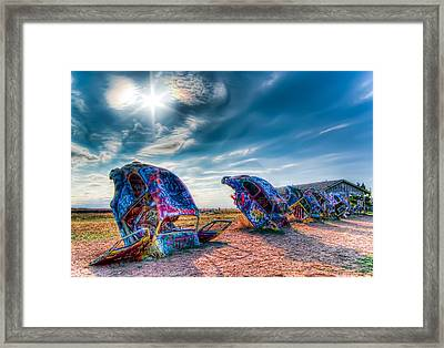 Framed Print featuring the photograph Vw Beetle by Anna Rumiantseva
