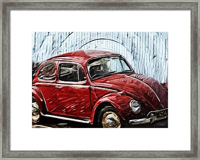 Vw Beetle Framed Print