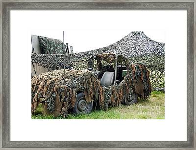 Vw Iltis Of The Special Forces Group Framed Print by Luc De Jaeger