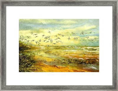 Wadden Sea Framed Print by Anne Weirich