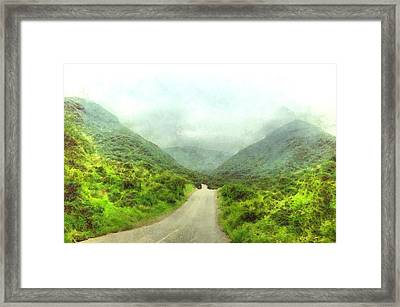 Wadi Darbat Framed Print