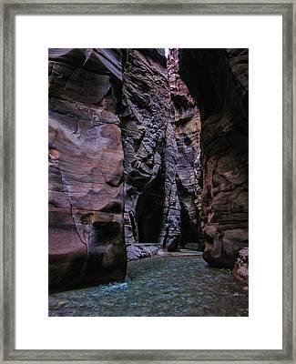 Wadi Mujib Jordan Framed Print