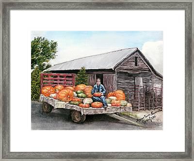 Wagner Farm Naperville Illinois Framed Print