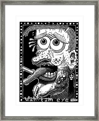 Wah Tam Eye Framed Print