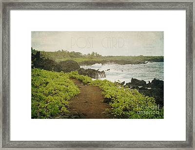 Waianapanapa Framed Print by Sharon Mau