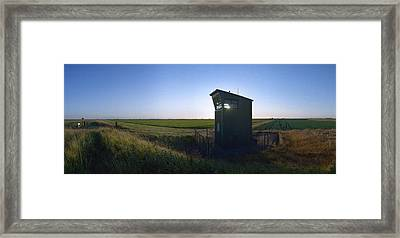 Wainfleet Control Tower Framed Print by Jan W Faul