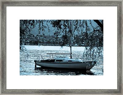 Waiting And Alone Framed Print