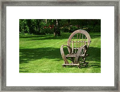 Waiting Framed Print by Andrew Fare