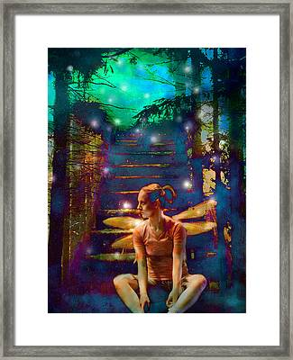 Framed Print featuring the photograph Waiting At The Gates Of Dawn by Nada Meeks