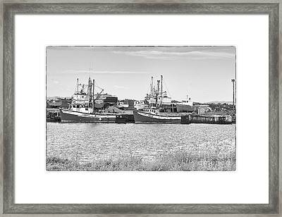 Framed Print featuring the photograph Waiting by Eunice Gibb