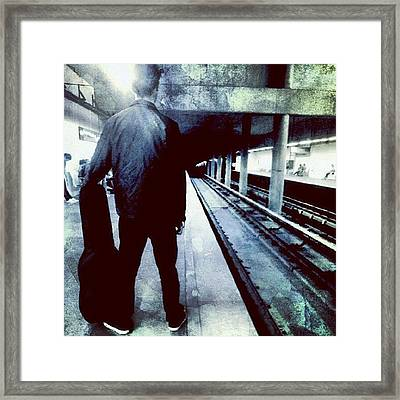 Waiting For A Song Framed Print