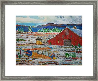 Waiting For Better Weather Framed Print by Donald McGibbon