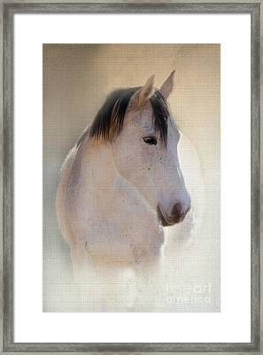 Waiting For Her Framed Print by Betty LaRue