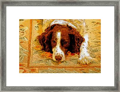 Waiting For Jared Framed Print by James Steele