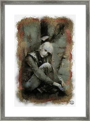 Waiting For Something To Happen Framed Print by Gun Legler