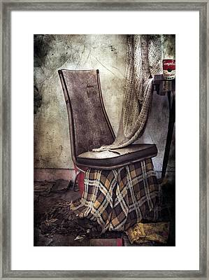 Waiting For Soup Framed Print by Empty Wall