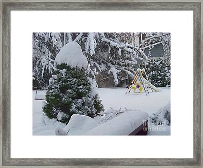 Waiting For Spring Framed Print by Charles Robinson