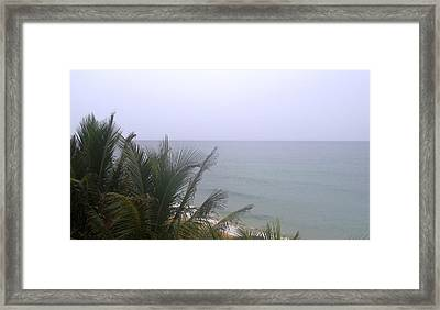 Waiting For Sunset Framed Print by Aimee Bruno