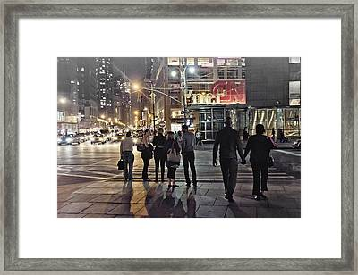Waiting For The Green Light  Framed Print by Alex AG