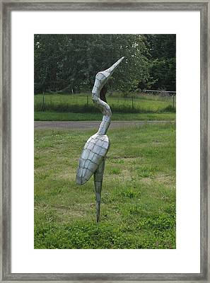 Waiting For The Moment Framed Print by Ben Dye